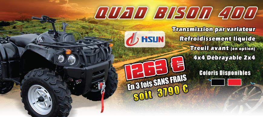 Quad HSUN 400 cm3 - BISON 400