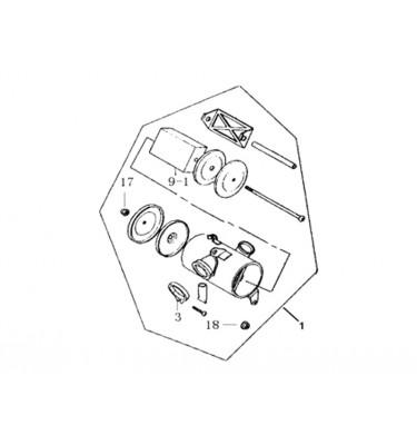 N°1 - Boîte à air - 50cc - Euro 3