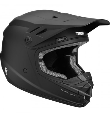 Casque cross THOR Sector Solid - Enfant
