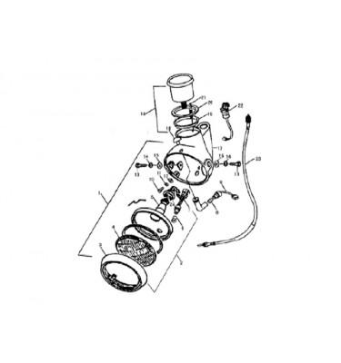 N°18 - Compteur - 125cc