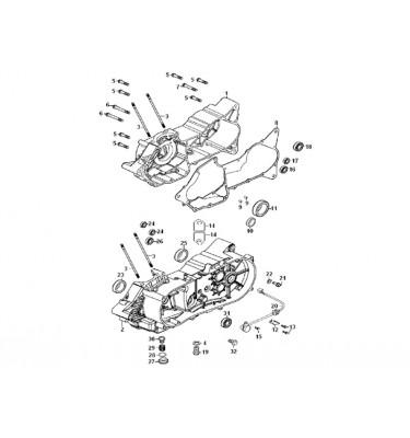 N°8 - Joint de carter moteur