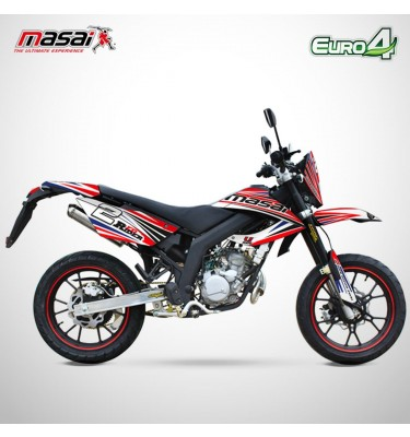 Moto homologuée SM 50 - MASAI - Red Rider