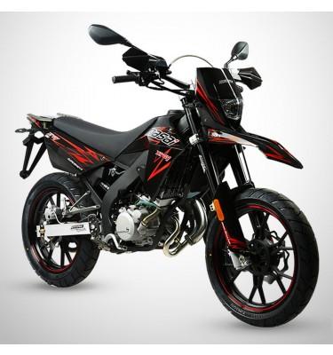 Moto homologuée X-RAY 50 - MASAI - Noir