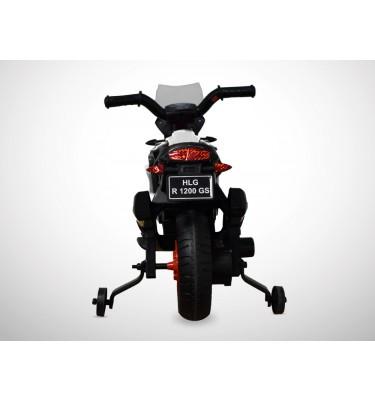Moto électrique enfant KINGTOYS - 1000GS 18W - Blanc