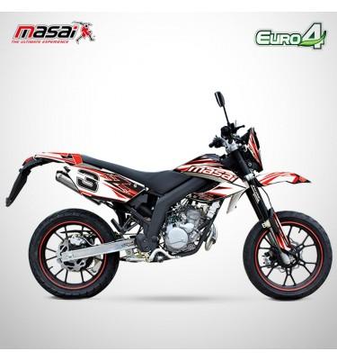 Moto homologuée RAZER 50 - MASAI - Blanc