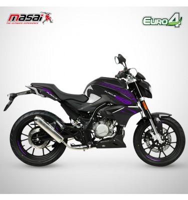 Moto homologuée FURIOUS 50 - MASAI - Noir