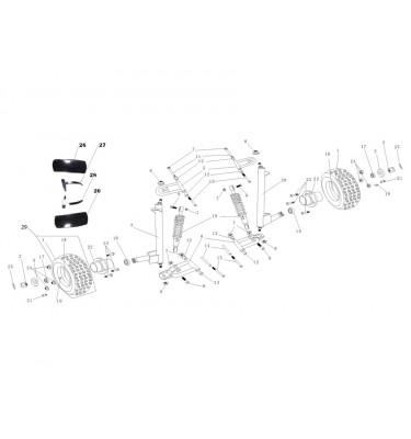 N°22 - Moyeu de roue avant