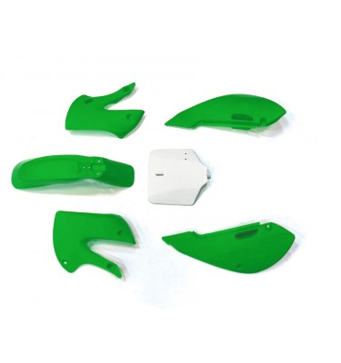Kit plastique - Type KLX110 - Vert