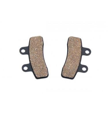 Plaquettes de frein - Double piston - Compact