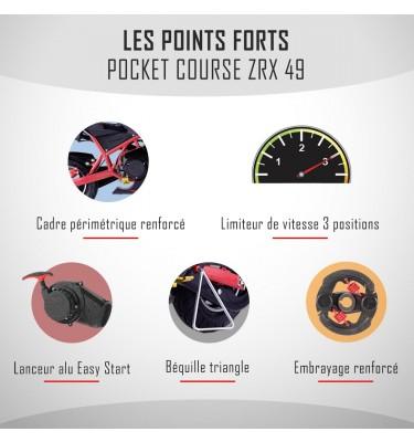 Pocket course ZRX 49 - Édition 2021 - Vert