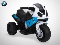 Moto électrique enfant KINGTOYS - BMW S1000 RR 18W - Bleu