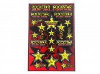 Planche stickers - ROCKSTAR