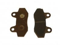Plaquettes de frein - Double piston - Semi-metal