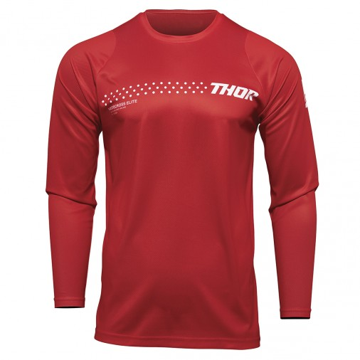 Maillot cross THOR Sector Minimal - Enfant - Rouge