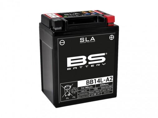 Batterie SLA BB14L-A2 / YB14L-A2 - BS BATTERY