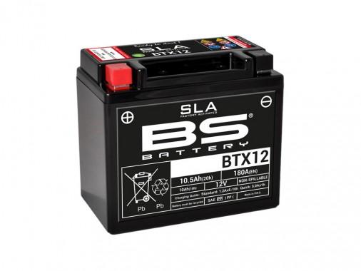 Batterie SLA BTX12 / YTX12-BS - BS BATTERY