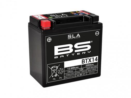 Batterie SLA BTX14 / YTX14-BS - BS BATTERY