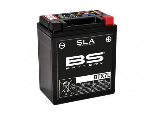 Batterie SLA BTX7L / YTX7L-BS - BS BATTERY