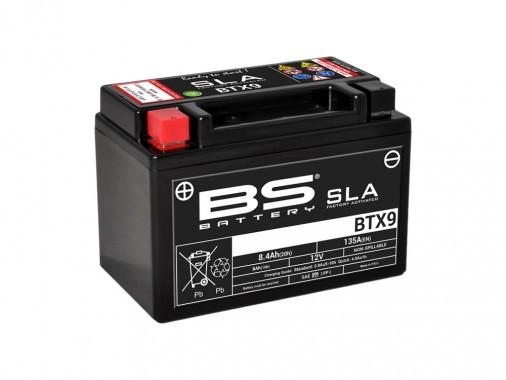 Batterie SLA BTX9 / YTX9-BS - BS BATTERY