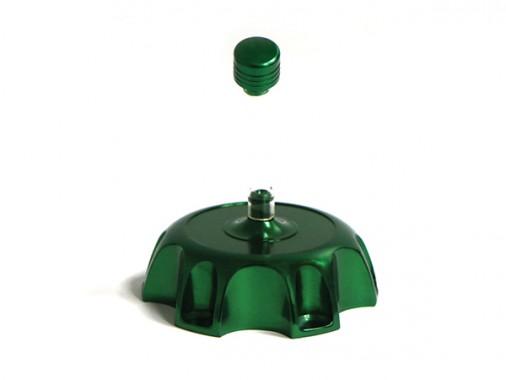 Bouchon de réservoir alu - Vert