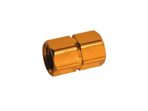 Bouchon de valve CNC - Or