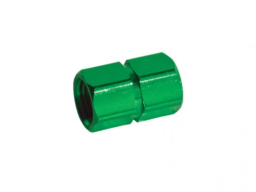 Bouchon de valve CNC - Vert