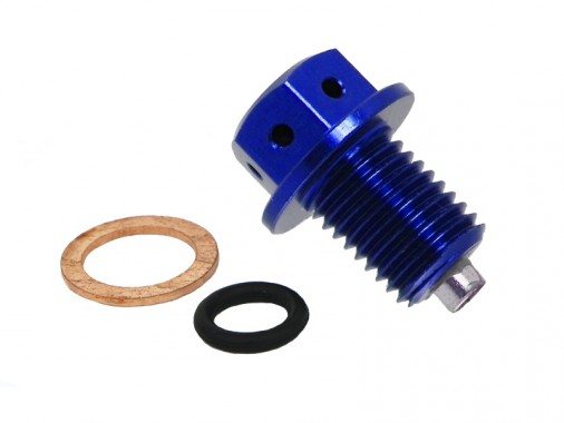 Bouchon de vidange magnétique - Bleu
