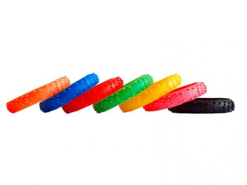 Bracelet SXR Factory - Pneu Cross - Jaune
