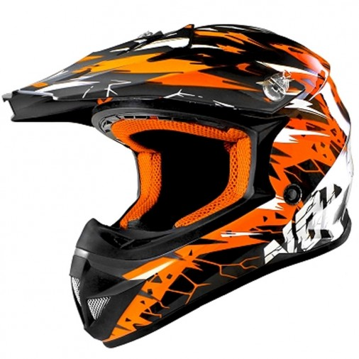 Casque cross NO END Cracked - Enfant