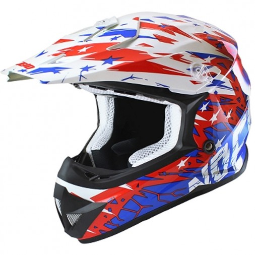 Casque cross NO END Cracked - Adulte