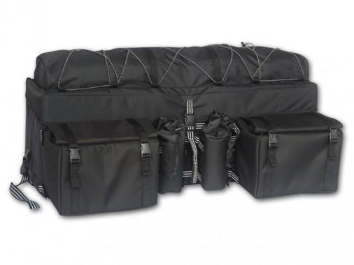 Coffre arrière semi-rigide multi poche
