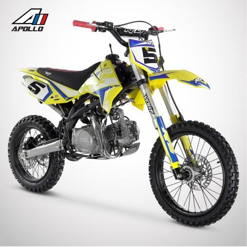 Dirt Bike APOLLO RFZ ENDURO 125 17/14 - 2021 - Jaune