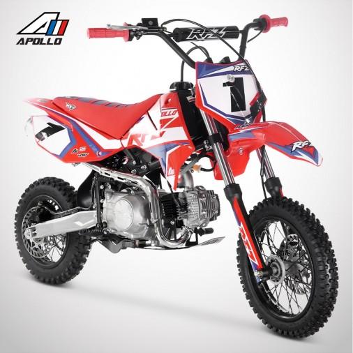 Dirt Bike APOLLO RFZ ROOKIE 110 Semi-Auto 12/10 - 2021 - Rouge
