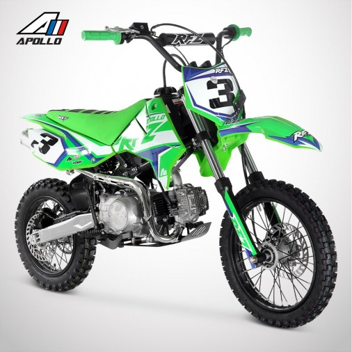 Dirt Bike APOLLO RFZ ROOKIE 125 Semi-Auto 14/12 - 2021 - Vert