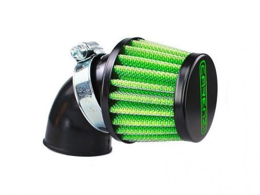 Filtre à air - 28/35mm - Coudé - CARENZI - M