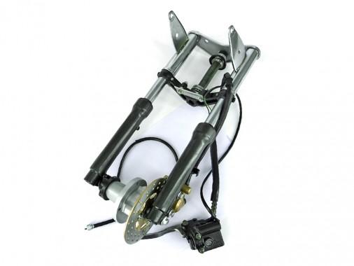 Fourche complète + kit de freinage