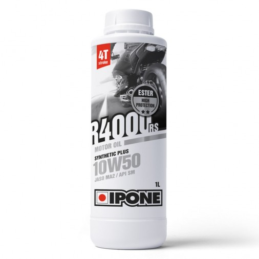 Huile IPONE R4000S RS 10W50 4T - 1 Litre