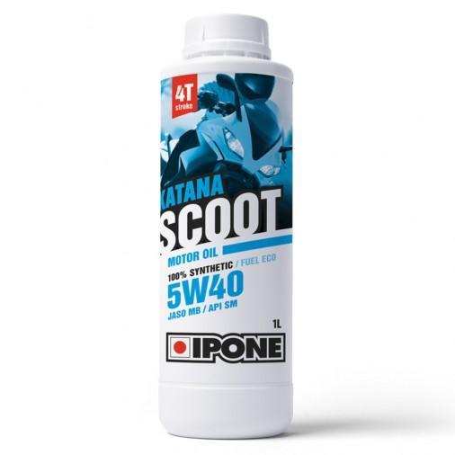 Huile IPONE Katana Scoot 5W40 4T - 1 Litre
