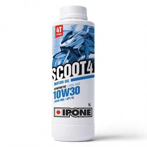 Huile IPONE Scoot 4 10W30 4T - 1 Litre