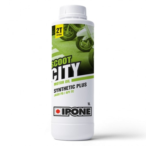 Huile IPONE Scoot City 2T - 1 Litre