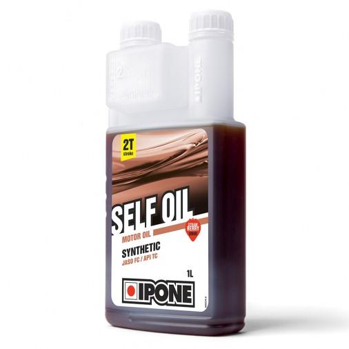 Huile IPONE Self Oil 2T - Senteur Fraise - 1 Litre