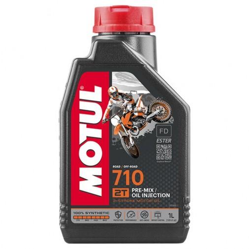 Huile MOTUL 710 2T - 1 Litre