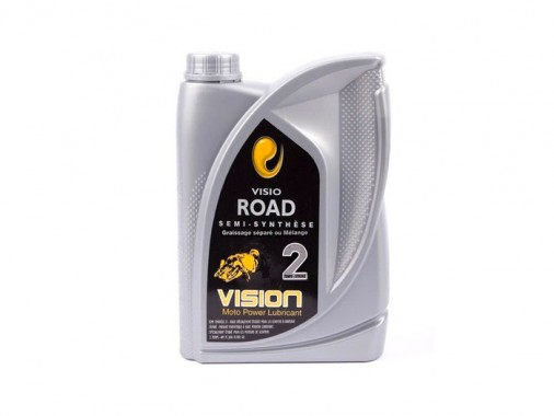 Huile VISIO ROAD 2T - 2 Litres