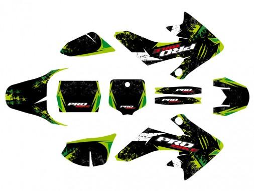 Kit déco PROBIKE - Type CRF50 - Vert
