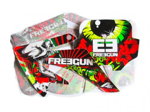 Kit déco FREEGUN Evil - Type CRF70