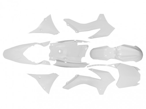 Kit plastique - Type KTM - Blanc