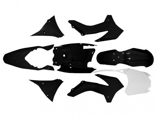 Kit plastique - Type KTM - Noir