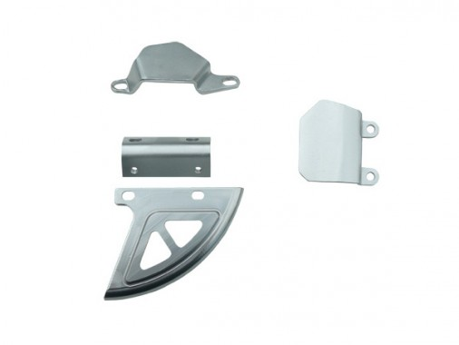 Kit protection frein arrière alu