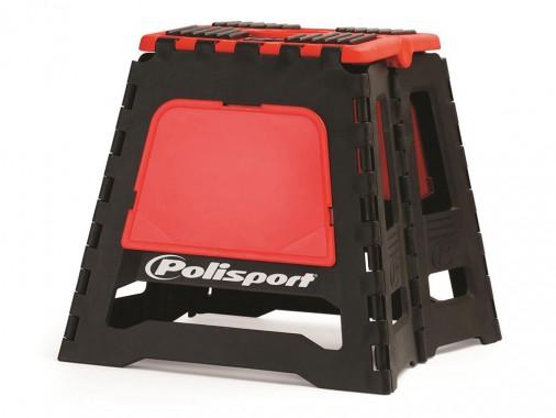 Lève moto pliable POLISPORT - Rouge