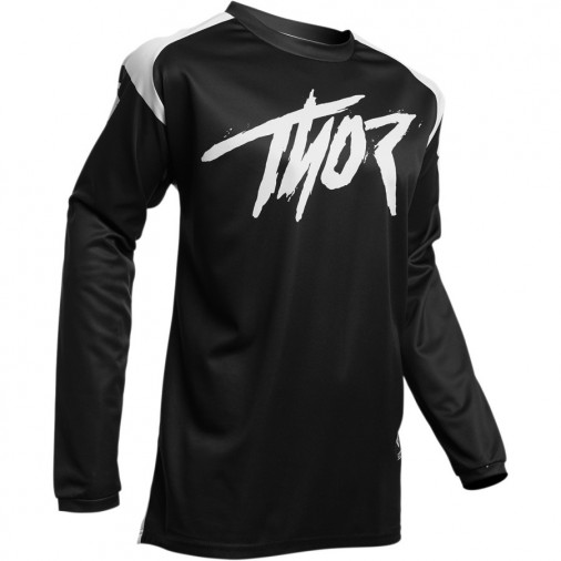 Maillot cross adulte THOR Sector Link - Blanc